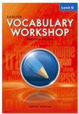 Sadlier Vocabulary Workshop:  Level G